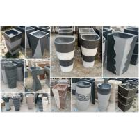 Buy cheap Natural Granite Stone pedestal basin With High Quality Cheap Price from wholesalers