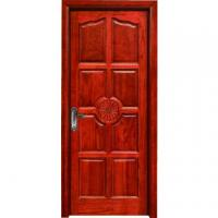 Buy cheap hotel flush room door design MDF melamine door wood interior door from wholesalers