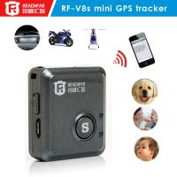 Buy cheap GPS factory hidden mini gps tracker RF-V8S for personal and car in www.google.com from wholesalers