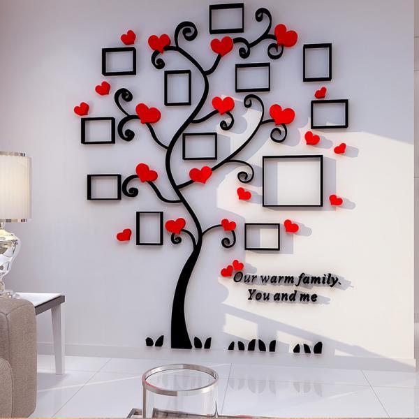 creative home decoration self adhesive photo frame family ForA T Design Decoration Co Ltd