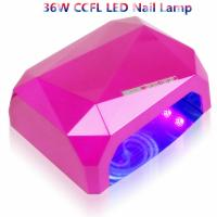 Buy cheap Infra Led Ccfl UV LED Nail Lamp 10s Fast Curing Nail Gel Polish 24*16*9.8cm from wholesalers