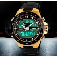 Buy cheap SKMEI Coly 50M Waterproof Analogue Digital LCD Multifunctional Mens Sports Watch  1016 from wholesalers