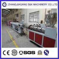 Buy cheap Soft PVC Pipe Extruder Machine Single Screw Extrusion Process from wholesalers