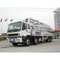Buy cheap Stable Performance 8x4 47 Meters Mobile Concrete Pump Trucks Safety from wholesalers