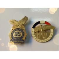 Buy cheap 2D Customized Military Pin Badges With Soft Enamel For Souvenir Date from wholesalers