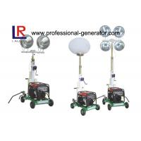 Buy cheap Handle Diesel Generator Balloon Project Light Tower with Direct Injection Diesel Engine product
