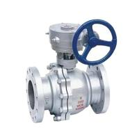 Buy cheap Turbine Stainless Steel Ball Valve Gear Operated Type CE AND ISO9001 Approved from wholesalers