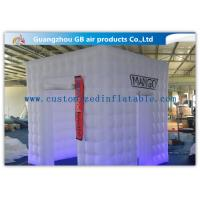 Buy cheap Party / Wedding Inflatable Booth Tent 16 Led Light Colors With Remote Controller product