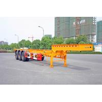 Buy cheap Gooseneck Container Trailer Chassis For 40 Feet Shipping Container from wholesalers