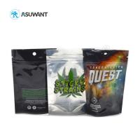 Buy cheap Stand Up Mylar Medical Cannabis Ziplock Bags Biodegradable 110-130 Mic Thickness from wholesalers