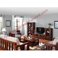 Buy cheap High Quality Solid Wooden Frame with Upholstery Sofa Set from wholesalers