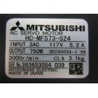 Buy cheap IP65 3 Phase Industrial Servo Motor 0.5kw 3000r / Min Rated Speed HC-MFS43-S24 from wholesalers