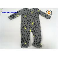 Buy cheap Thunder AOP Baby Boy Pram Suit Microfleece Footie Zipper Closure Coverall from wholesalers