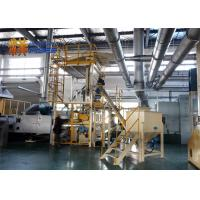 Buy cheap PP Fibre Wadding Thermal Bonding Machine High Efficiency Steam Heating from wholesalers