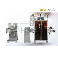 Buy cheap Heat Shrink Sleeve Labeling Machine , Sleeve Label ApplicatorWith Shrink Tunnel from wholesalers