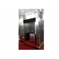 Buy cheap High Cleanliness Vertical Air Flow Cosmetic Industry SUS 304 Dispensing Booth product