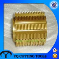 Buy cheap HSS coating TIN HTD Timing Belt Pulley Gear Hob types gear hob cutters from wholesalers