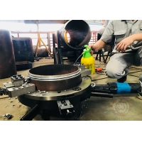 Buy cheap Pneumatic Driven 30mm 1.0mpa Pipe Cutting And Beveling Equipment from wholesalers