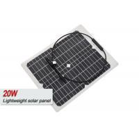 ETFE Film Sungold 20 Watt Monocrystalline Solar PanelWith IP67 Junction Box