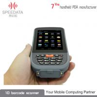 Buy cheap Grey PDA Intelligent Bluetooth Thermal Printer Hand Held IP65 3C ROHS from wholesalers