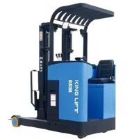 Buy cheap Quick Changing Electric Stacker Truck Reach Truck 7.5m Lifting Height from wholesalers