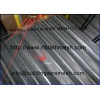 Galvanized Flat Rib Lath Mesh Formwork Mesh Building Material 4MM Rib Height