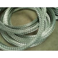 Buy cheap sharp razor wire high tensile strength razor barbed wire military affairs/prison use concertina razor barbed wire mesh from wholesalers
