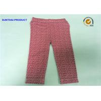 Buy cheap Floral Print Cute Baby Girl Leggings In Cotton Spandex Sample Available from wholesalers