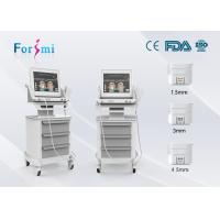 Buy cheap high intensity focused ultrasound portable hifu machine ultrasound facelift machine from wholesalers