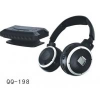 Buy cheap QQ198 PC& TV wireless headphone with mic /LCD display from wholesalers