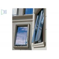 Buy cheap Thermal Break Aluminium Glass Awning Top Hung Window Horizontal Opening product
