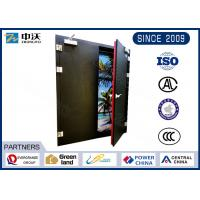 Long Life Black Insulated Fire Door For Large - Scale Shopping Malls