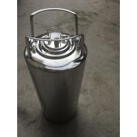 Buy cheap Mirror Polished 5 Gallon Corny Keg , Cornelius Soda Keg Reliable Seal Condition from wholesalers