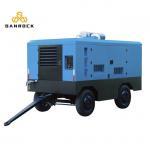 Buy cheap Four Wheels  Diesel Screw Air Compressor  Energy Saving 10-25 Bar Working Pressure from wholesalers