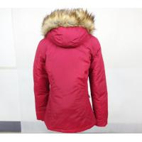 Buy cheap Casual Style Hooded Fur Collar Thick Padded Long Coat Outerwear Jacket from wholesalers