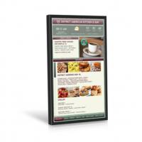 Buy cheap 49 Inch Video Wall Mount LCD Display Plug In Play 178° Viewing Angle Kiosk Touch Screen from wholesalers