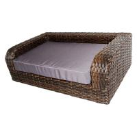 Buy cheap Hengxin Rattan Wicker Pet Dog Doggy Pet Waterloo Pet Sofa For Dog Cat FOB Reference from wholesalers