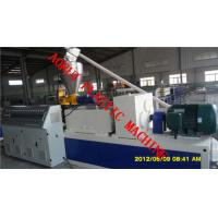 Buy cheap WPC Extrusion Machine , Wood Plastic Extrusion Line For Panel from wholesalers
