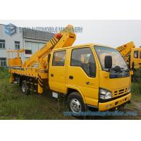 Buy cheap ISUZU 600P High Altitude Operation Truck Aerial Platform Truck Double Row Cabin from wholesalers
