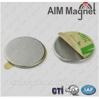 Buy cheap 15mm x 2mm Round Magnet Back Adhesive from wholesalers