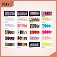Buy cheap ABS Airbrush Artificial Nail Tips Glitter Artificial Designed Nail Art Tip from wholesalers