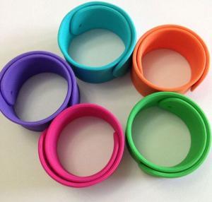 Buy cheap silicone bracelet ,silicone slap wristbands product