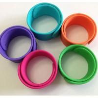 Buy cheap silicone bracelet with logo ,silicone slap wristbands for sport games product