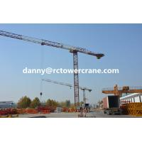 Buy cheap Flat top Type RCP5517-8t tower crane promotion from wholesalers