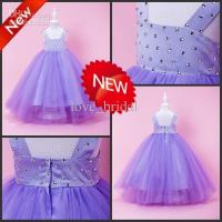 Buy cheap CUSTOM Made Hot Sale Ball Gown Floor Flower Girls Pageant Party Dresses For Weddings from wholesalers