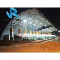 Buy cheap Sunshade Prefabricated Steel Structure For Stadium Bleachers Tent Tensile Membrane from wholesalers