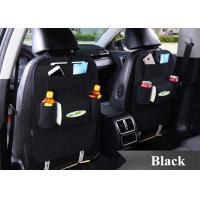 Buy cheap Black Grey Brown Car Seat Back Bag Organizer , Felt Car Seat Organizer Bag from wholesalers
