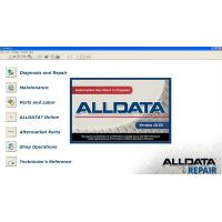 Buy cheap Universal Car Diagnostic Software Alldata Version 10.50 from wholesalers
