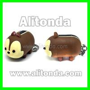 China 3D animal shape figures custom keychains type action figures supply on sale