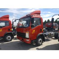 Sinotruk HOWO Light Duty Trucks Chasiss Euro 2 Emission RHD Steering